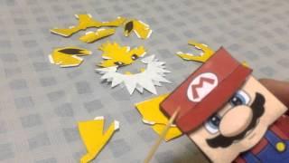 Como fazer papercraft - Jolteon