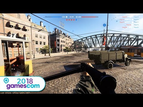 BATTLEFIELD V : 30 min de gameplay (Gamescom 2018)
