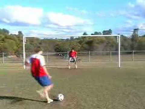 Soccer Ball Rebound to Head MUST WATCH!!