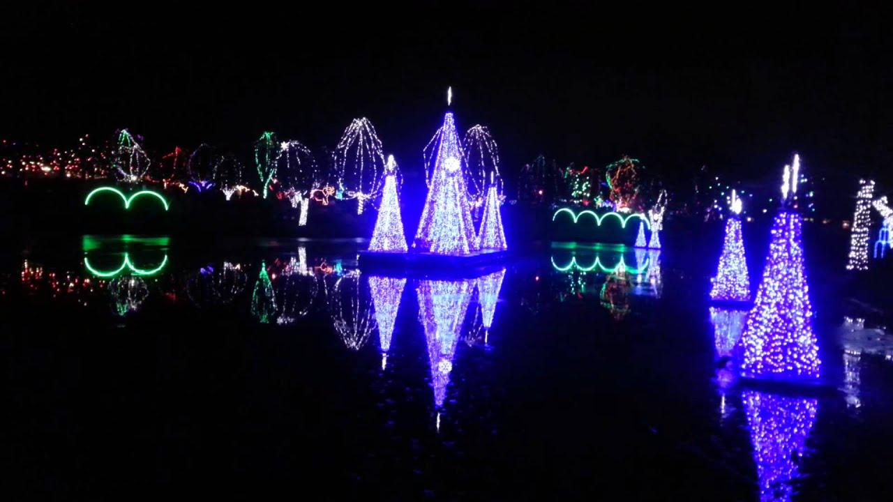 Columbus Zoo Wild Lights 2013 Youtube