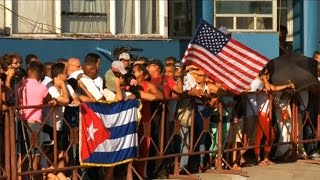 """U.S. Raises Flag in Cuba After 54 Years, Prisoner Exchanges and """"Stork Diplomacy;"""" Embargo Remains"""