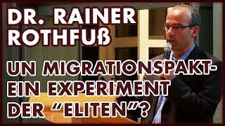 #Migrationspakt: Rainer Rothfuß über die Hintergründe und Lösungsansätze