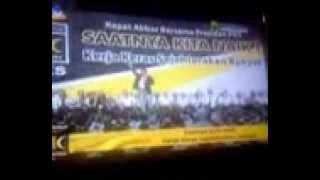Presiden PKS Anis Matta di Surabaya, 9-2-2013