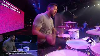 Download Drum Cover - See A Victory - Elevation Worship Mp3 and Videos