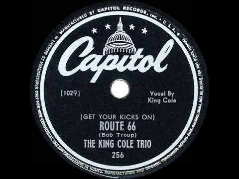 1946 HITS ARCHIVE: (Get Your Kicks On) Route 66 - Nat King Cole (his Original Version)