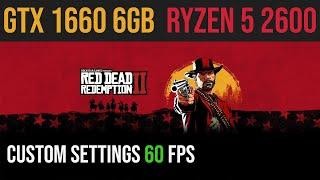 Red Dead Redemption 2 | GTX 1660 | Ryzen 2600 | 1080p