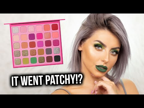 OVERYHYPED..? TESTING THE JEFFREE STAR X MORPHE PALETTE! FIRST IMPRESSIONS, REVIEW + TUTORIAL! thumbnail
