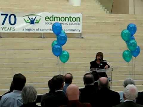Edmonton Social Planning Council 70th Anniversary Launch Part 4
