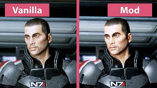 Mass Effect 2 – DIY Mod Remaster vs. Vanilla = Original Graphics Comparison