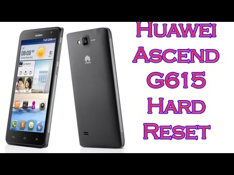 Huawei Ascend G615 Hard Reset Lang Bengali