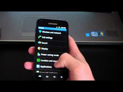 Review of EK02 Android 2.3.6 Gingerbread on the Samsung Epic 4G Touch