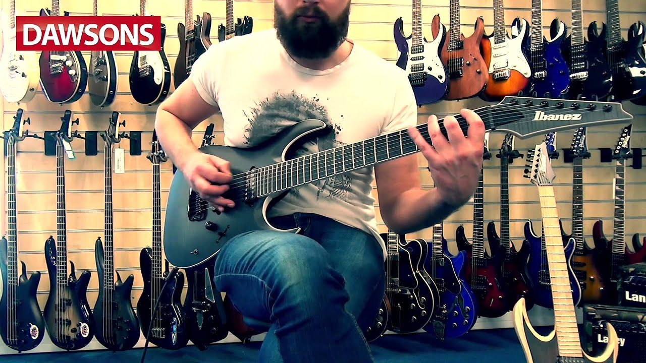 ibanez rgaix7 fm iron label review youtube
