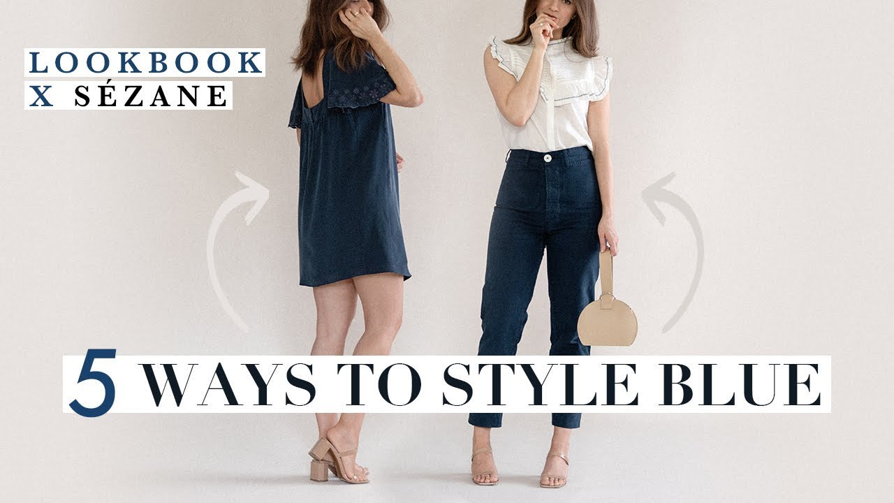 How To Style Blue X Sézane | Chic Outfit Ideas 9