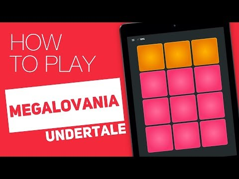How To Play: MEGALOVANIA (Undertale) - SUPER PADS - RPG Kit