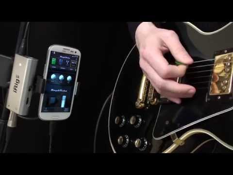 iRig UA - Experience near-zero latency guitar & effects processing on Android devices