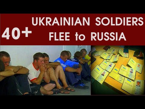 Ukraine turmoil: Ukrainian Soldiers flee to Russia | To UNITE with their Russian Brothers