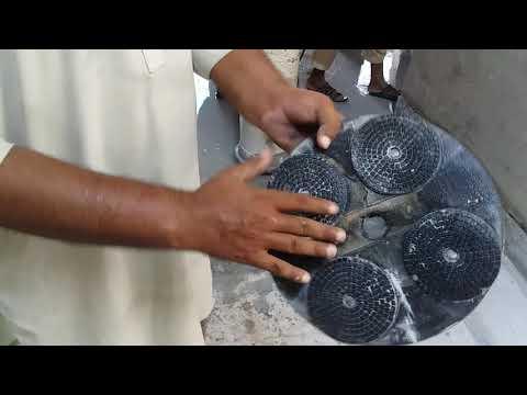 How To Use 12 Inch Diamond Pad Holder| Urdu-Hindi|