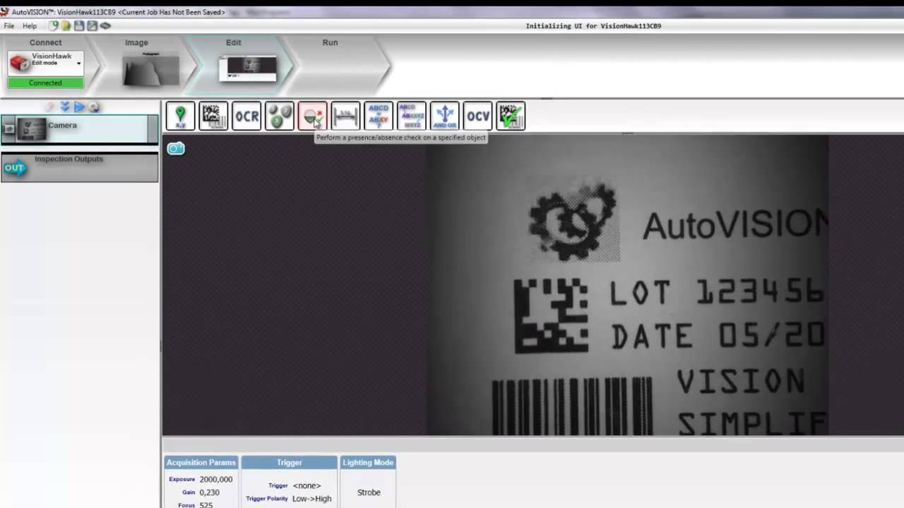 AutoVISION Demo 10: Connecting to a PLC Over EtherNet/IP