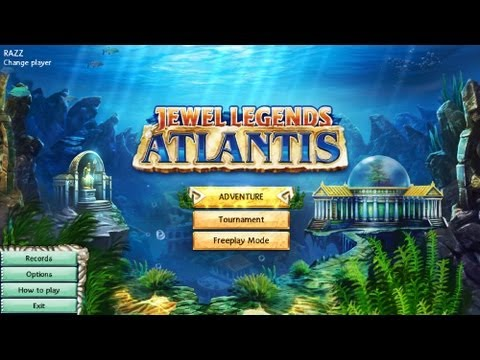 Jewel Legends 2 - Atlantis - Gameplay (HD)