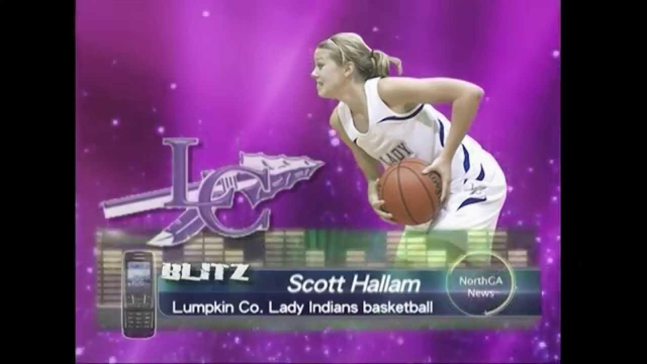 Lumpkin County Lady Indians basketball head coach Scott Hallam
