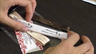 як зробити етикетку на одяг своїми руками