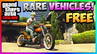 GTA 5 Online: STORE RARE VEHICLES FOR FREE! - Lost