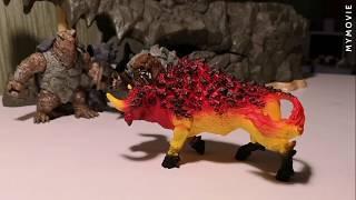 Моя коллекция фигурок  Боевые животные      Collection of figures  Fighting animals