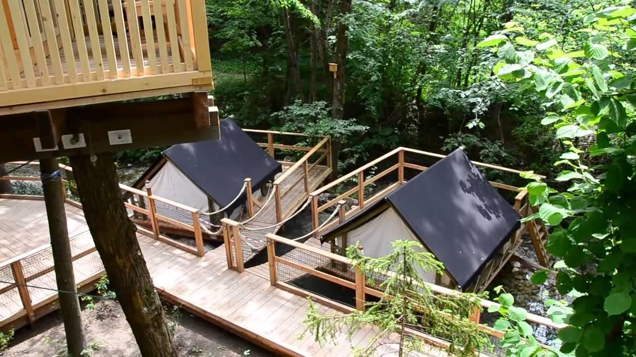 glamping garden village bled www avtokampi si youtube