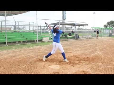 Aliya Borjon 2016 Santa Gertrudis Academy High School / CC FireFastpitchSoftball