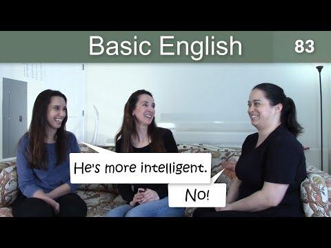 Lesson 83 ????? Basic English with Jennifer ????????????Comparatives and Superlatives