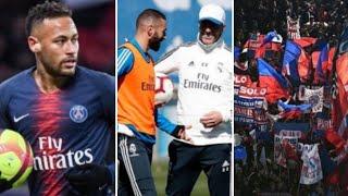 Supporters de l'OM interdit de classico pour risque de moquerie! Uefa enquete contre neymar, zidane