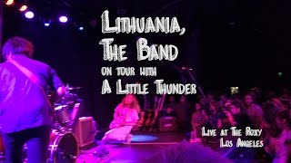 """Lithuania The Band"" - First artist on Tour with A Little Thunder - June 2015"