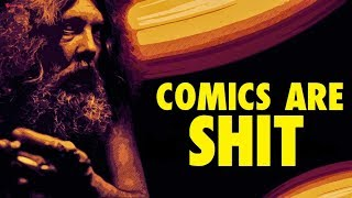The (Lack) of Complexity in Comic Book Stories