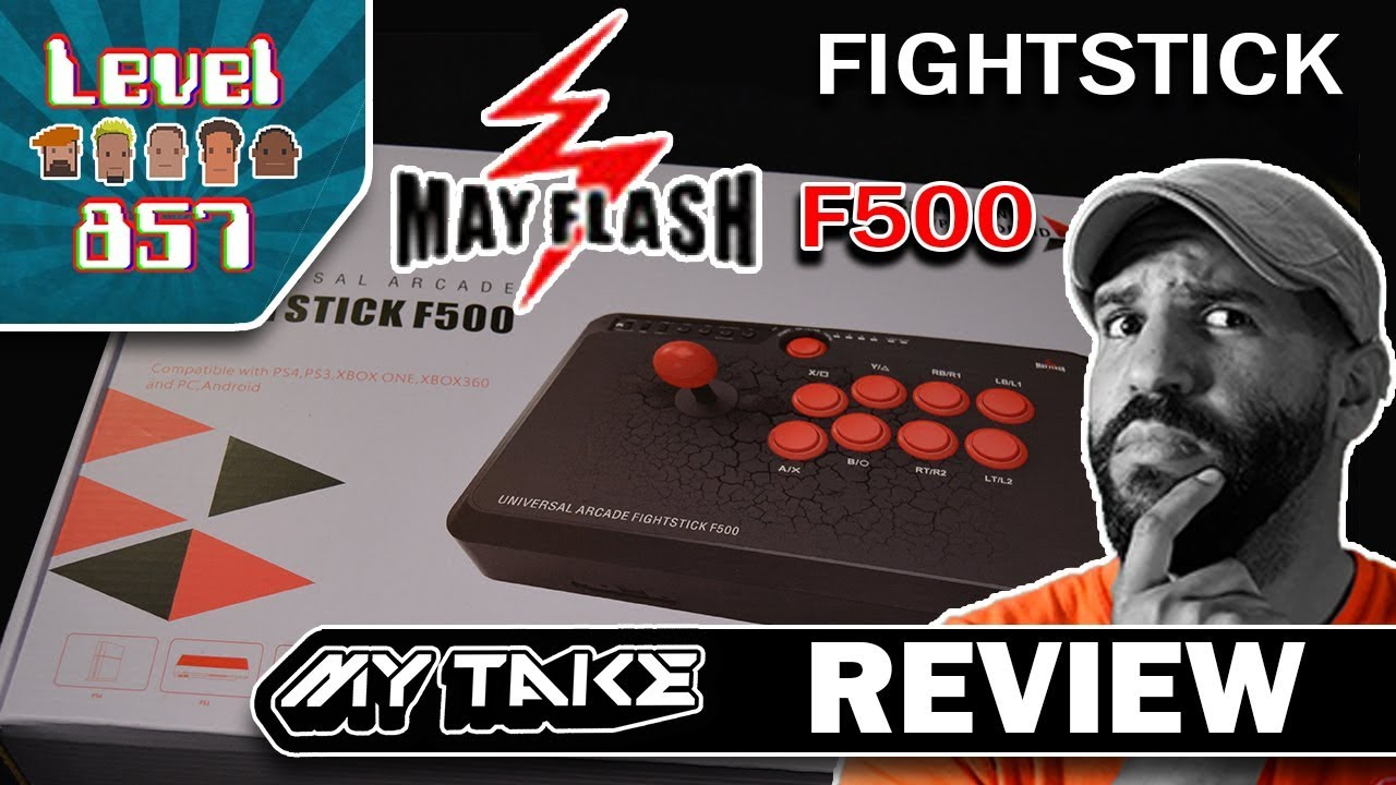 ALG857 Reviews The MayFlash Universal Arcade Fight Stick F500!