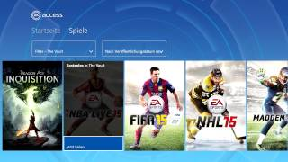 So funktioniert EA Access auf eurer Xbox One | GREENSCREEN - Special | presented by Rockstah