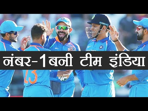 India Vs South Africa: India becomes number 1 in ICC ODI rankings   वनइंडिया हिंदी
