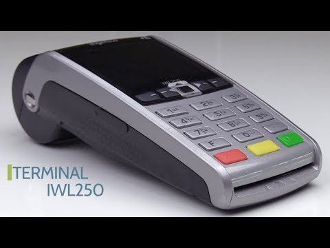 How to install your Ingenico Portable iWL250 terminal  | FunnyDog TV