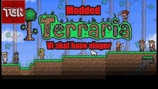 Modded Terraria del 9 med Lærke: Vi skal have vinger [DK]