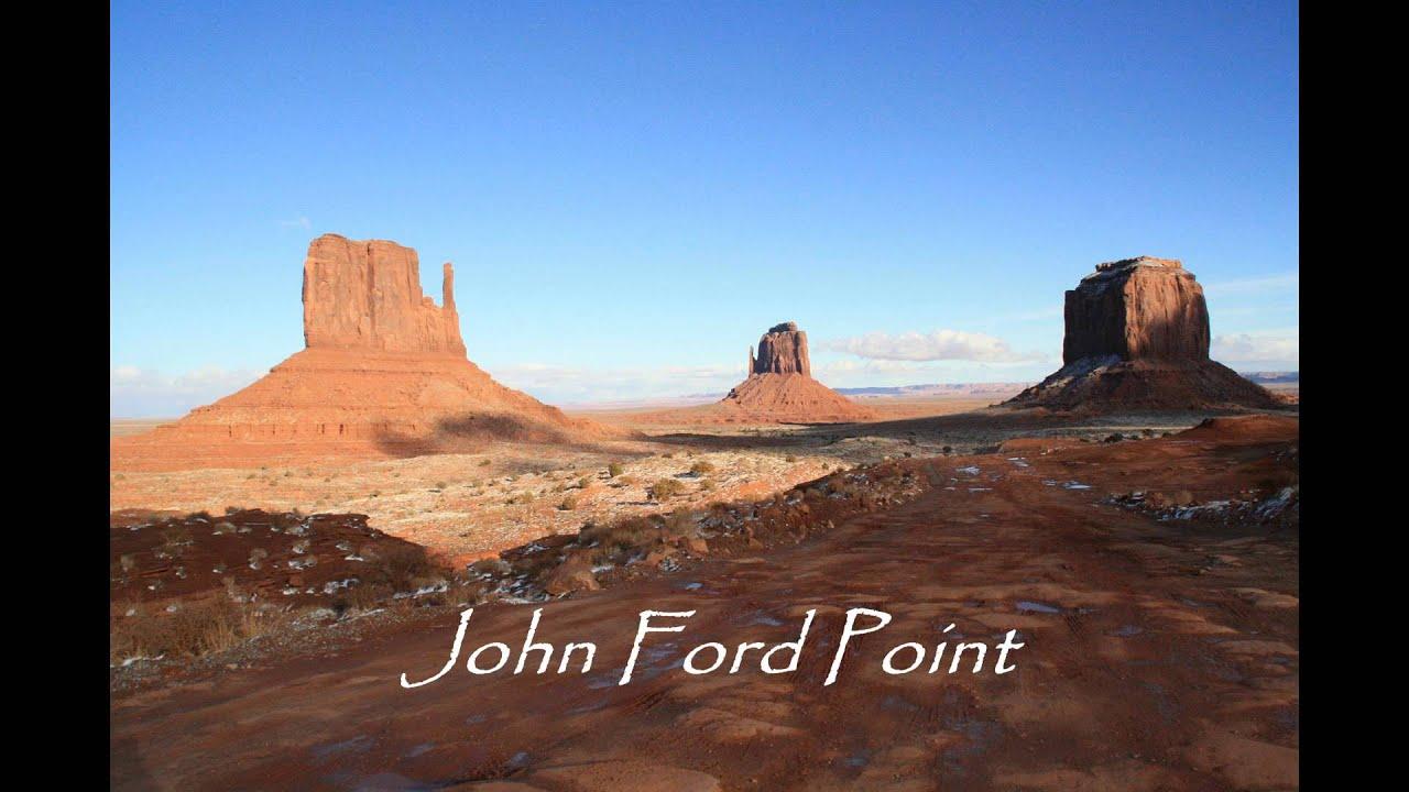 Monument Valley Frontiere Entre L Arizona Et L Utah Etats Unis