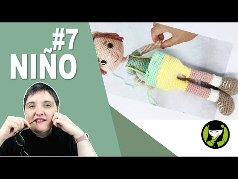 Niño amigurumi 7