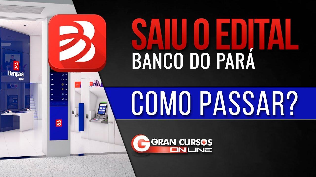 c76c08a49 Concurso Banpará: saiu o GABARITO PRELIMINAR. Confira comentários e  recursos!