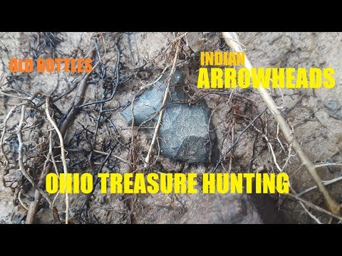 Ohio Treasure Hunting Ancient Indian Arrowheads & Old Bottles History Channel Wheeling Wv