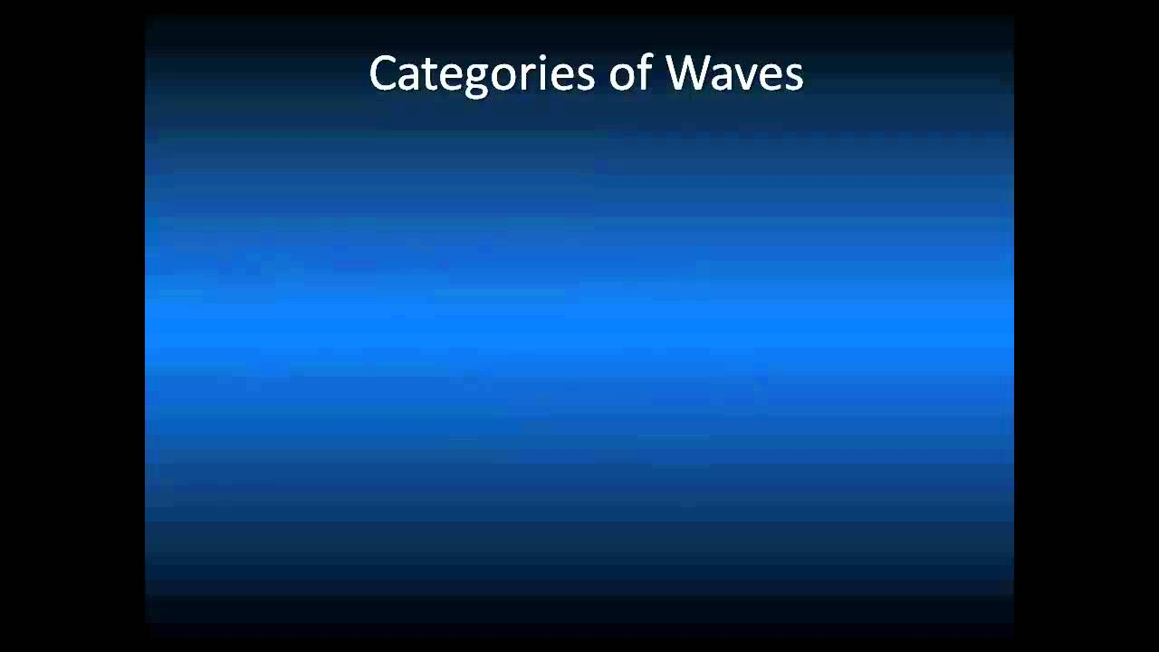 Anatomy of a Wave - Video 1 of 3 - YouTube