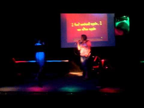 Jaye and Meredith karaoke
