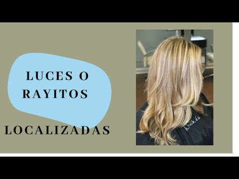 Luces Cabello Localizadas Youtube