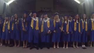 BHS Graduation Timelapse 2016