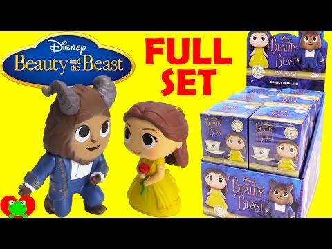 Disney Beauty and the Beast Funko Mystery Minis