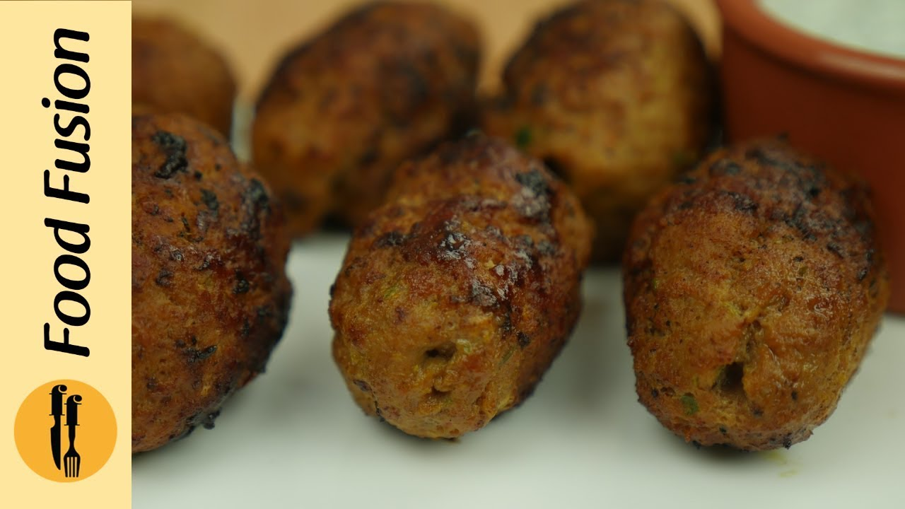 Gola Kabab Recipe By Food Fusion - Youtube-9438