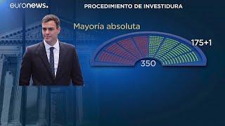 Esprint político para una rápida investidura de Pedro Sánchez como Presidente del Gobierno en Es…