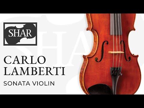 Carlo Lamberti Sonata Violin